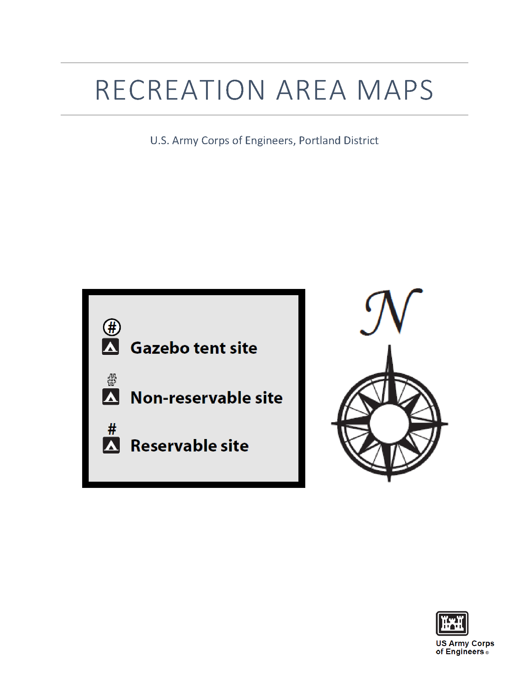 Recreation Area Maps Maps Usace Digital Library - Us-army-corps-of-engineers-district-map