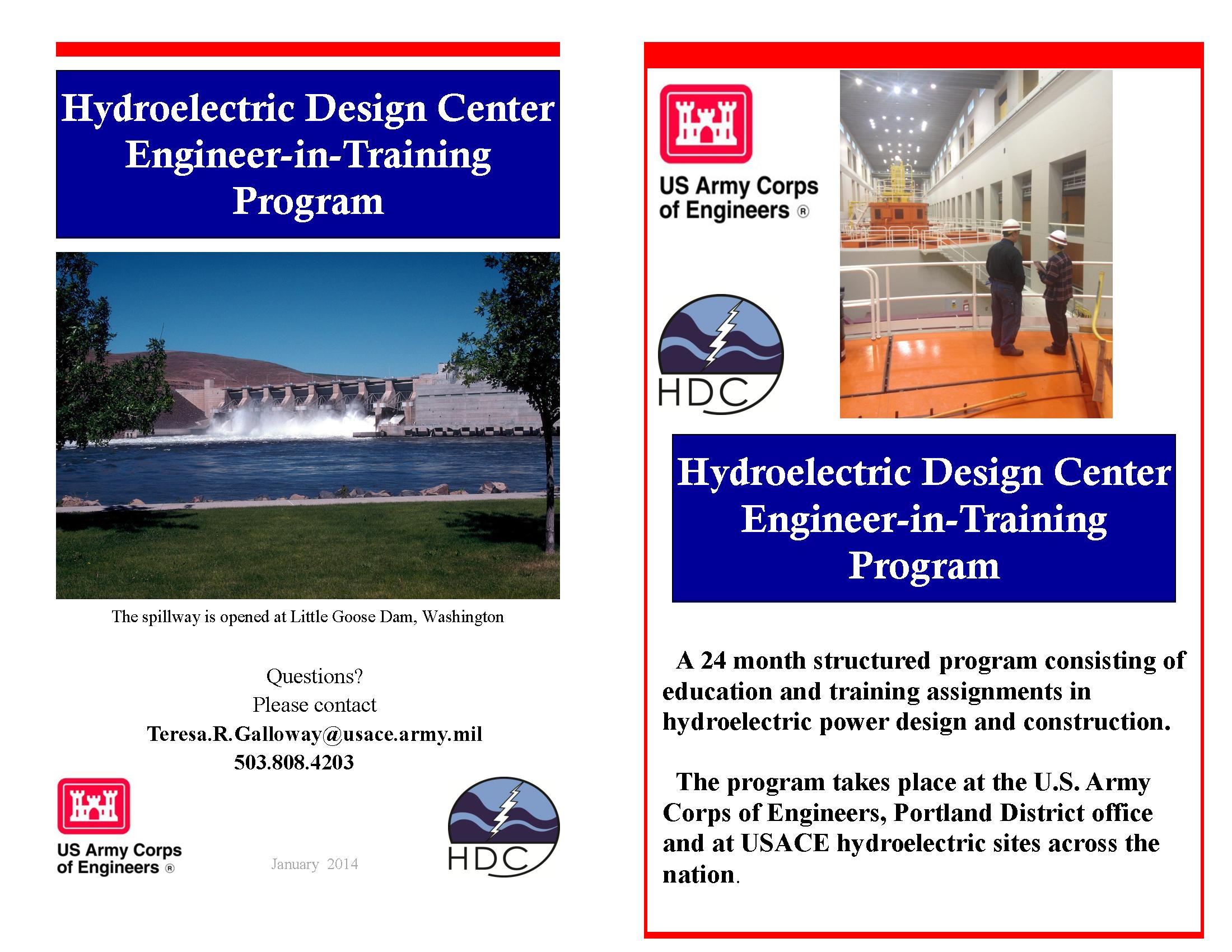 Hydroelectric Design Center Engineer-in-Training program