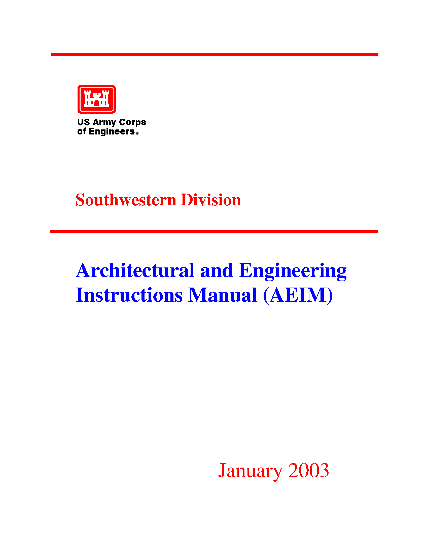 architectural and engineering instructions manual aeim booklets rh usace contentdm oclc org usace cofferdam design manual usace design manual for sheet pile walls